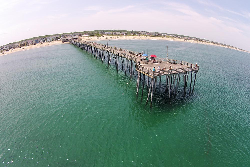 Photo gallery nags head fishing pier for Nags head fishing pier