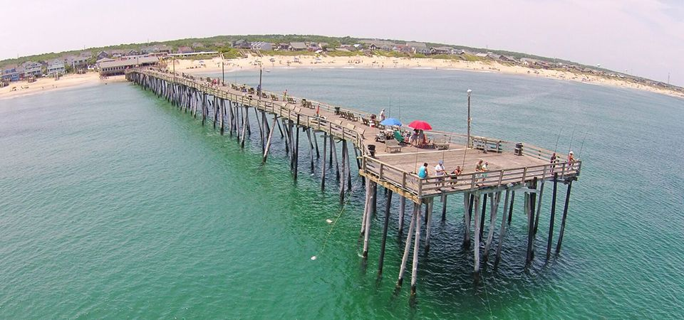 Pier info rates nags head fishing pier for Nags head fishing pier