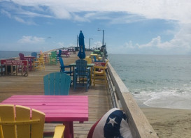It's always a beautiful day for fishing at Nags Head Pier . . . are you here yet?