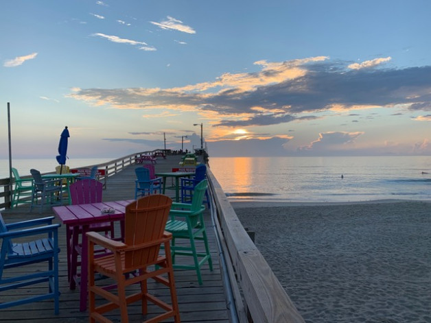 It's a beautiful day here at the Nags Head Fishing Pier. See you soon!