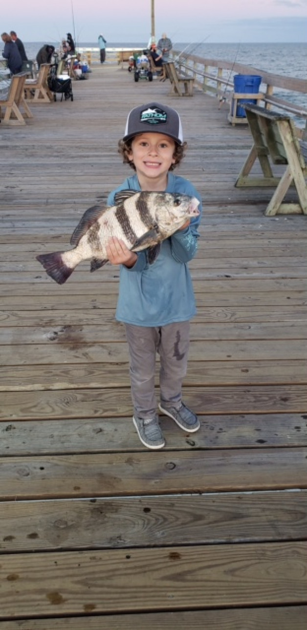 It's a beautiful day in the neighborhood AND! a great day for Fishing on the Pier !!!