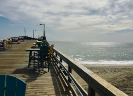 It's Monday. You probably just got here Saturday or Sunday. It's time to get out on the Pier and FISH !